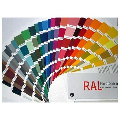 Catalogo colores ral