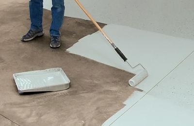 Pintar paviments